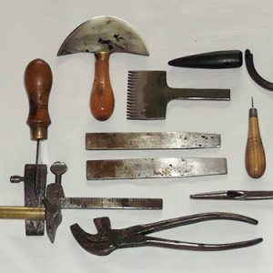 Leather hand tools