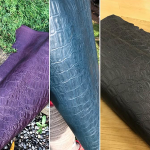 Top Grain leathers
