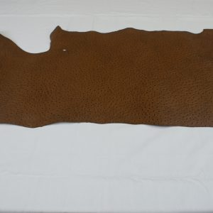 Pay Bay Ostrich print leather