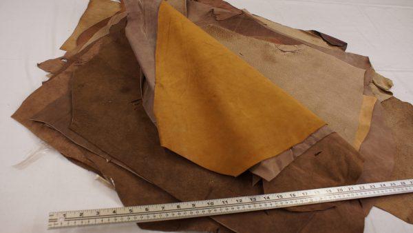 Bundle price split leather