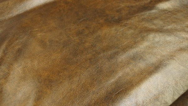 roman green pattern leather