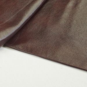 ox blood colour leather