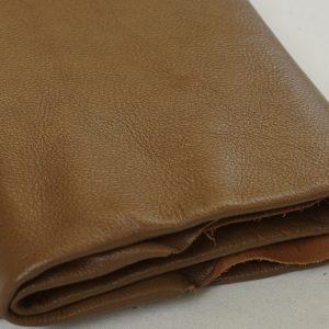 caramel leather hide
