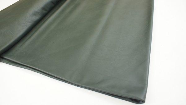 dark forrest green leather