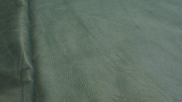 jade green leather