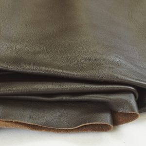 cocoa brown leather