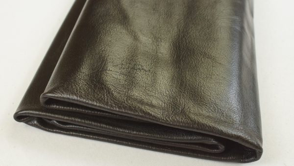 negro brown leather full hide