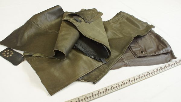 Lambskin leather