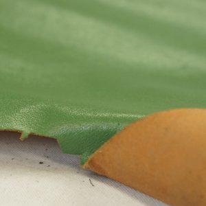 Italian green leather