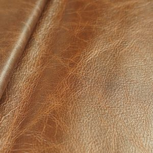 aniline dyed leather