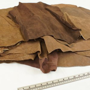 split leather brown