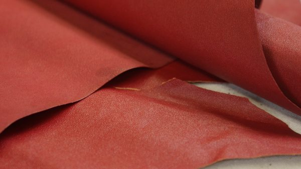book binding american red leather