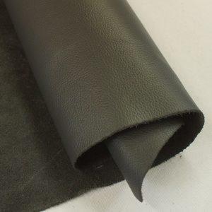 Victorian black leather