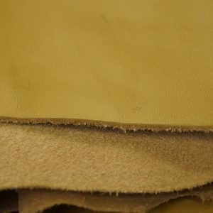 desert tan leather hide