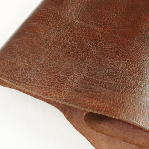 mahogany brown leather
