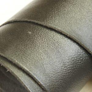 spectrum black leather