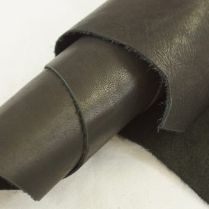 black side chunk leather
